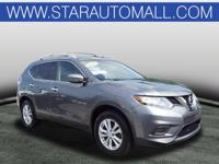 AWD.2016 Nissan Rogue SV SV Gun Metallic AWDCALL STAR
