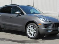 2016 Porsche Macan SCARFAX One-Owner. Clean