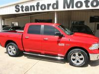 Get a like new truck with our 2016  Ram 1500 4x4 SLT