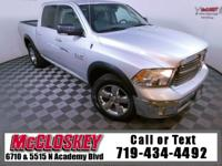 Easy to love 2016 Ram 1500 Big Horn 4x4 Crew Cab with