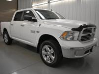 White 4WD 2016 Ram 1500 Big Horn115V Auxiliary Power
