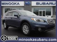 Introducing the 2016 Subaru Outback! Comfortable and