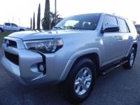 This is a True CarFax Certified Toyota 4-Runner that