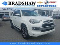Recent Arrival! Super White 2016 Toyota 4Runner Limited