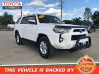 2016 Toyota 4Runner SR5 4WD, ABS brakes, Alloy wheels,