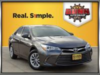 This 2016 Toyota Camry LE is a reliable vehicle that