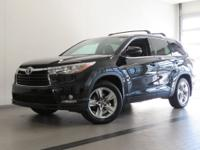 2016 TOYOTA HIGHLANDER! NEW TIRES! ONE OWNER! MIDNIGHT