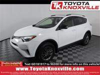 CARFAX One-Owner. Super White 2016 Toyota RAV4 SE AWD