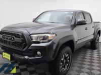 Magnetic Gray Metallic pickup with a 6-Speed Automatic