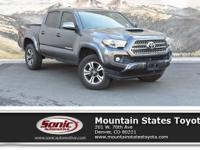 Look at this 2016 Toyota Tacoma TRD Sport. Its