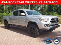 Silver 2016 Toyota Tacoma SR5 4WD 6-Speed Automatic V6