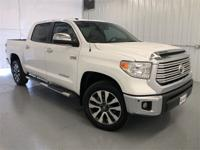 Super White 2016 Toyota Tundra Limited 4WD 6-Speed