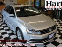 Silver 2016 Volkswagen Jetta 6-Speed Automatic with