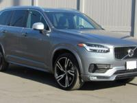 Gray 2016 Volvo XC90 T6 R-Design AWD Automatic with