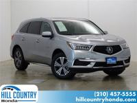 CARFAX One-Owner. Clean CARFAX. 2017 Acura MDX 3.5L