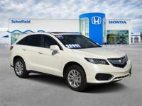 White 2017 Acura RDX FWD 6-Speed Automatic 3.5L V6 SOHC