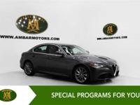 CARFAX One-Owner. Recent Arrival! 2017 Alfa Romeo