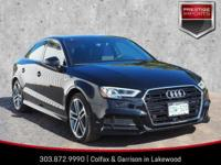 2017 Audi A3 2.0T Premium Plus quattro in Mythos Black