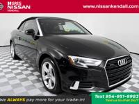 CARFAX One-Owner. quattro, Black w/Leather Seating