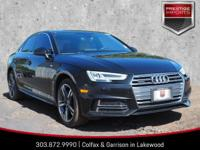 Mythos Black Metallic 2017 Audi A4 2.0T Premium Plus