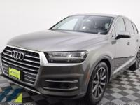 Beautiful Graphite Gray Metallic SUV with quattro AWD