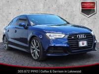 Navarra Blue Metallic 2017 Audi S3 2.0T Premium Plus