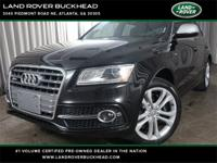 2017 Audi SQ5 3.0T Premium Plus quattro **Eligible for
