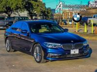 We are excited to offer this 2017 BMW 5 Series. When