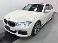 Recent Arrival! White 2017 BMW 7 Series 750i xDrive AWD