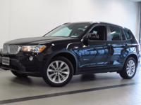 2017 BMW X3 xDRIVE28i! ONE OWNER! JET BLACK EXTERIOR