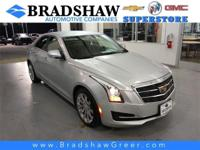 Recent Arrival! Radiant Silver Metallic 2017 Cadillac