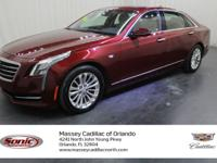 This 2017 Cadillac CT6 comes complete with CADILLAC CUE