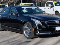 CARFAX One-Owner. Black Raven 2017 Cadillac CT6 3.0L