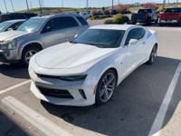 Summit White 2017 Chevrolet Camaro 1LT RWD 8-Speed