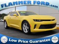 2017 Chevrolet Camaro Bright Yellow **ONE OWNER**,