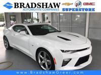 Recent Arrival! Summit White 2017 Chevrolet Camaro SS