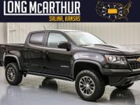 2017 Chevrolet Colorado Crew Cab ZR2 4wdThis is one of