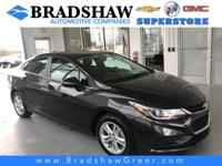 Tungsten Metallic 2017 Chevrolet Cruze LT KBB Fair
