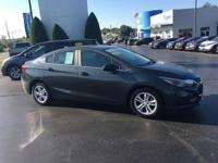 CARFAX One-Owner. Clean CARFAX. 2017 Chevrolet Cruze LT
