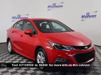 CARFAX One-Owner. Clean CARFAX. Red Hot 2017 Chevrolet