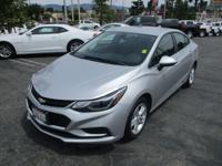 GM CERTIFIED!! 2017 CHEVROLET CRUZE. Here is a super
