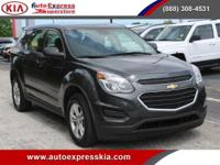 - - - 2017 Chevrolet Equinox FWD 4dr LS - - -  4 Wheel