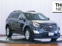 The 2017 Chevrolet Equinox sits in the top third of the