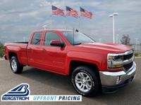 2017 Chevrolet Silverado 1500 LT LT1 4WD Red 6-Speed