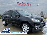 2017 Chevrolet Traverse LT 1LT AWD Black Metallic
