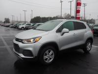 Silver Ice Metallic 2017 Chevrolet Trax LT AWD 6-Speed
