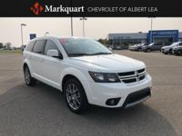 CARFAX One-Owner. White 2017 Dodge Journey GT AWD