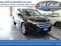 Shadow Black 2017 Ford Edge SE AWD 6-Speed Automatic