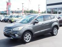 Gray 2017 Ford Escape SE 4WD 6-Speed Automatic EcoBoost