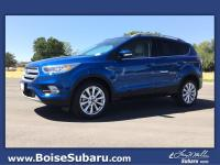 Blue 2017 Ford Escape Titanium 4WD 6-Speed Automatic